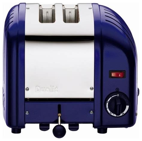 blue toasters dualit classic 2 slice toaster cobalt blue modern