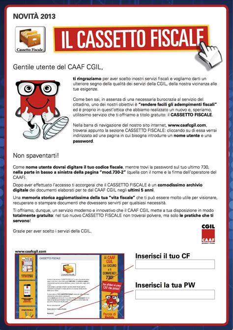 Cassetta Fiscale by Caaf Cgil Piemonte