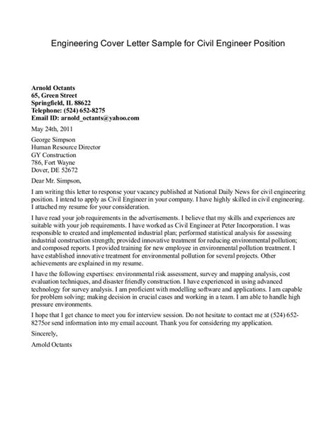 software engineer cover letter civil engineering cover letter engineering cover letter 32967