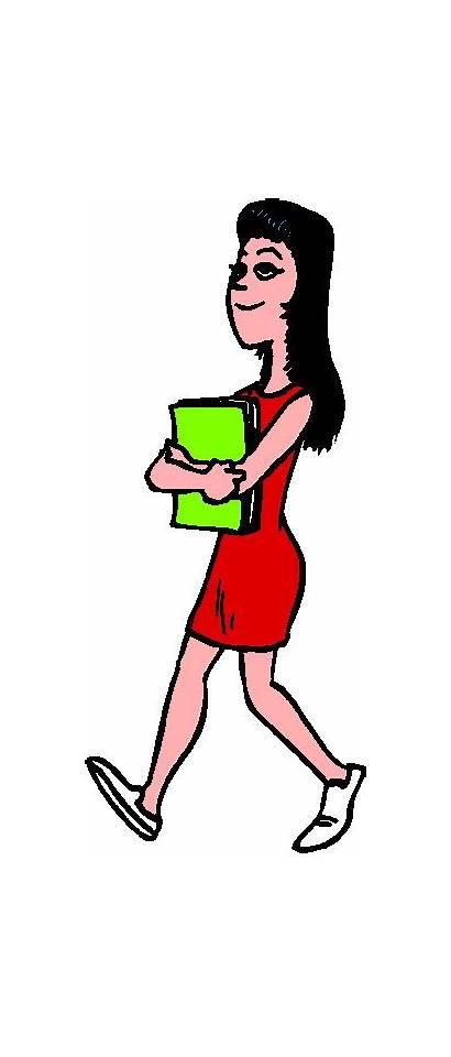 Walking Clipart Clip Cliparts Wandelen Activiteiten Teacher