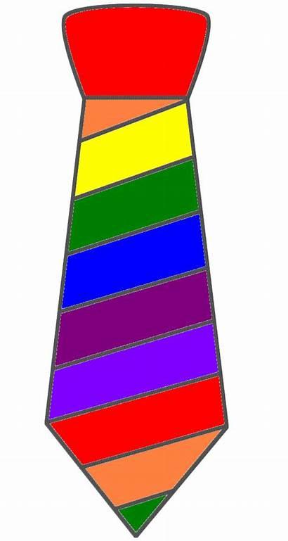 Tie Clipart Clip Crazy Rainbow Scarf Darwing