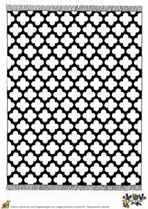 Tapis Forme Geometrique : coloriage tapis geometrique croix sur ~ Teatrodelosmanantiales.com Idées de Décoration