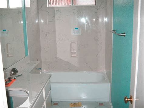 Removing Cultured Marble Shower Walls - remodel gallery by bill howe restoration flood services