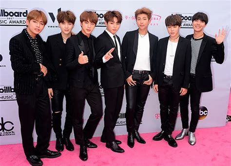 hot korean boy band who is bts 5 things about the k pop band at the bbmas