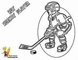 Hockey Coloring Player Pages Players Sheets Boy Yescoloring Gear Nhl Hat Ice Sports Cold Drawing Skating Trick Printable Colouring Cartoon sketch template