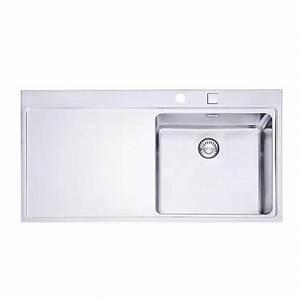 Evier Grand Bac Profond : evier inox franke mythos 1 grand bac 1 gouttoir gauche ~ Premium-room.com Idées de Décoration