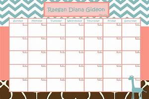 customize baby calendar for baby shower pool game by With baby pool calendar template