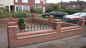 brick garden wall designs cdxnd home design in pictures ideas With front garden brick wall designs