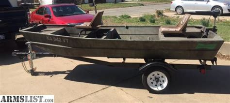 Jon Boat Trailers For Sale Craigslist by Armslist For Sale Trade Jon Boat 12 Ft With Trailer