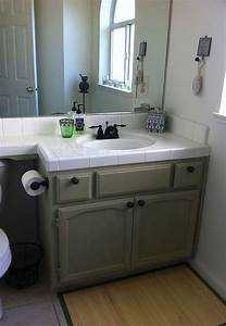 bathroom makeover with chalk paintr decorative paint by With chalk paint in bathroom