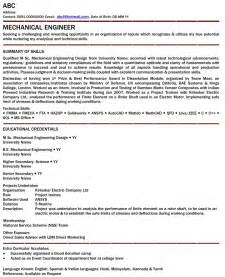 engineering resume format for freshers pdf to word latest resume format mechanical engineer resume for fresher