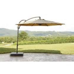 garden oasis offset umbrella 10ft round outdoor living