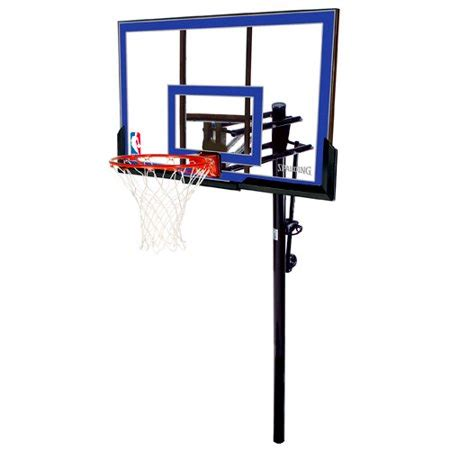 spalding   acrylic  ground basketball system
