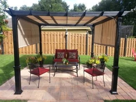 lowes l shade lowes patios and pergola shade on retractable
