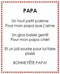 poeme papa sitation pinterest recherche With affiche chambre bébé avec quelles fleurs offrir pour un mariage