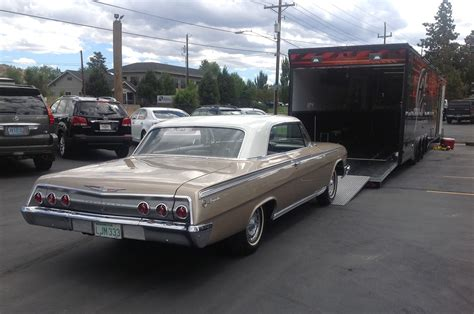 1962 Chevy Bel Air And 1963 ½ Ford Galaxie