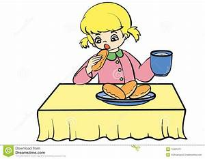 Girl Eating Lunch Clipart - Clipart Suggest