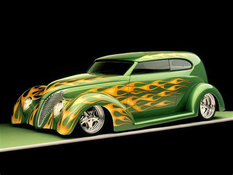 Modified Vintage Car Hd Wallpaper