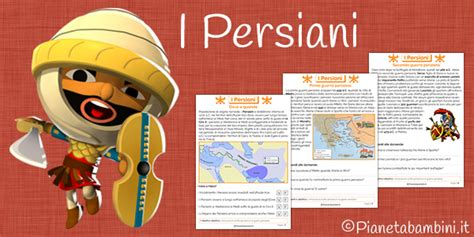 I Persiani by I Persiani Schede Didattiche Per La Scuola Primaria
