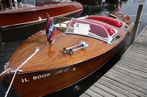 Runabout Boat Comparison by Gar Wood 20 Runabout 1940 Boats
