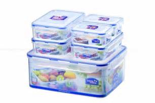 Plastic Kitchen Canisters Lock Lock Lock And Lock Plastic Food Storage Containers Boxes Set 6 Ebay