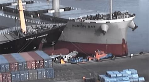 Big Boat Collisions by 5 Ship Collision Accidents On