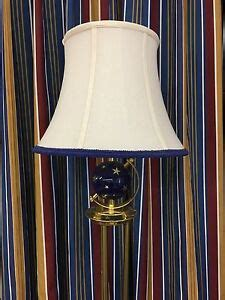 disneys yacht club resort floor lamp blue stars  shade guest room prop wdw ebay