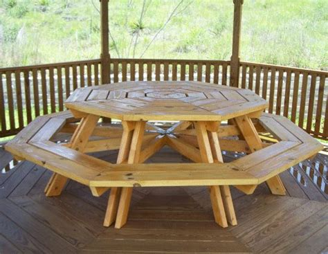 25 best ideas about picnic table plans on diy