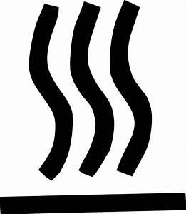 Hot Surface Symbol Clip Art  103102  Free Svg Download    4