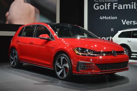 Usspec 2018 Volkswagen Golf Revealed Ahead Of New York