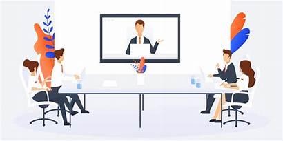 Meeting Conference Setup Transform Services Meet Distance