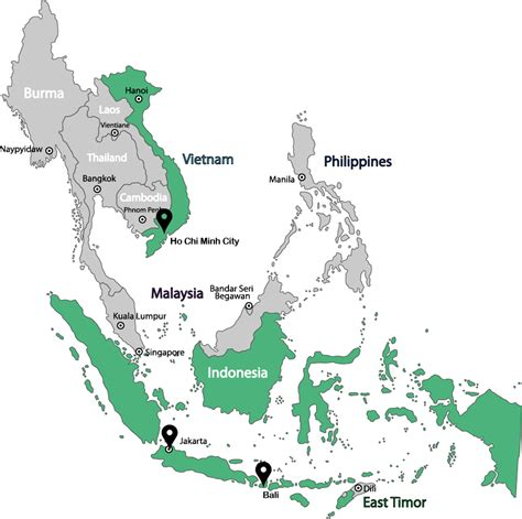 emerhub market entry services  south east asia