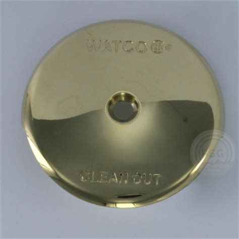 bathtub overflow plate leaking bathtub drains and drain parts by watco