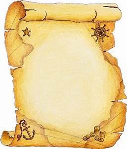 Tubos de receitas parchemins papiers pergaminhos for Pirate scroll template