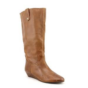 womens brown boots size 12 steve madden inspirre womens us size 9 5 brown leather fashion knee high boots ebay
