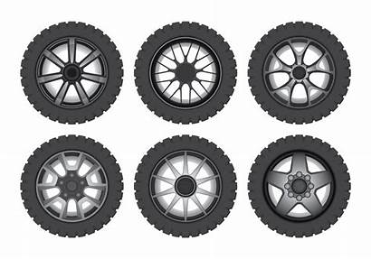 Vector Wheels Retro Clipart Graphics Vectors Edit