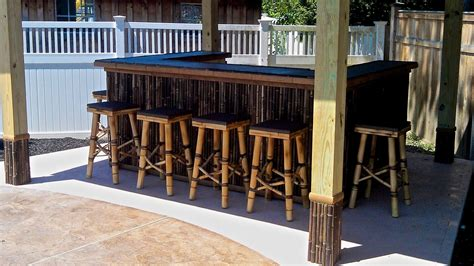 custom tiki bar  riftsawn carpentry custommadecom