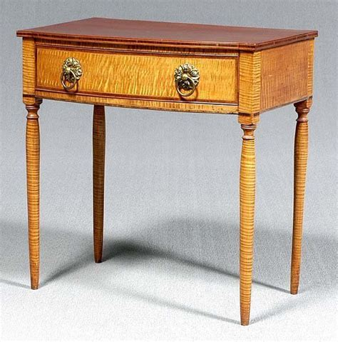 federal tiger maple dressing table maple furniture
