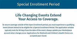 Special Enrollment Period Offers Second Chance for Health ...