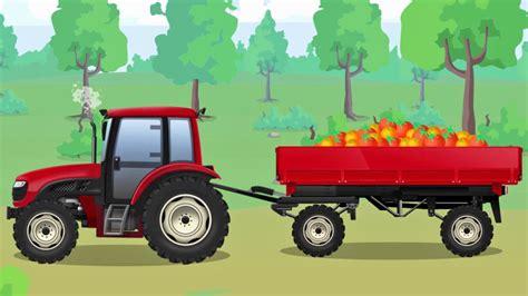 traktor mit anhänger der traktor mit anh 228 nger der lastwagen die gro 223 e autos