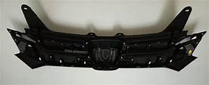 Upper   Lower Chrome Front And Bumper Grille Set For Honda