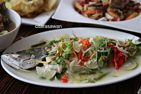 Ikan saos thailand fried fish with thai sos masakan rumahan rasa restoran lezat. Ikan Kukus Thailand - Ikan Siakap Stim Ala Thai Paling ...