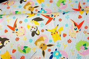 pokemon fabric pikachu