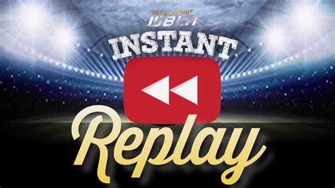 Instant Replay epi2 - YouTube