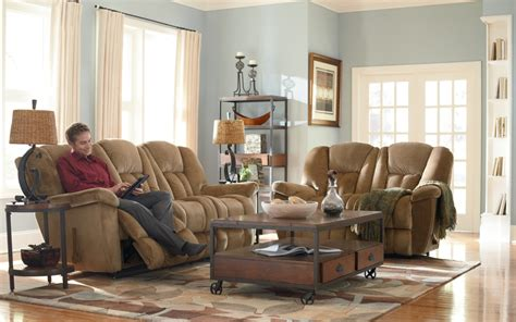 Living Room With Recliners by La Z Boy Furniture