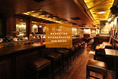 Best Bars In Nyc  Manhattan Neighborhood Guide