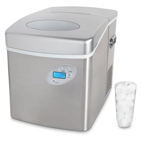 table top ice machine the superior tabletop ice maker hammacher schlemmer