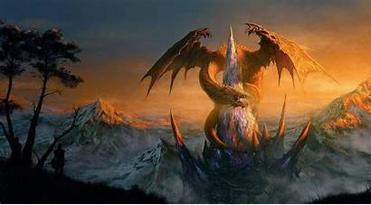 Epic Dragon Wallpapers Fantasy Cave