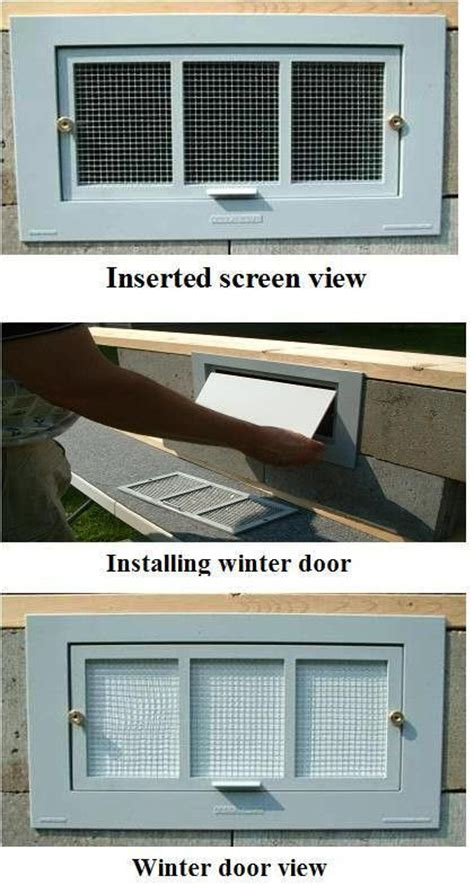 crawl spaces vent covers  foundation  pinterest