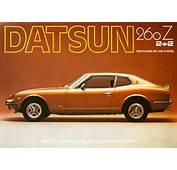 Datsun Z Advertising  240Z / 260Z 280Z 280ZX